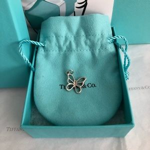 Tiffany & Co. Butterfly Charm